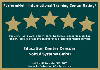 5 Sterne International Training Center Rating